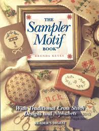 the sler motif book with traditional cross stitch designs and