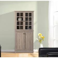reclaimed wood china cabinet zh141454 the home depot