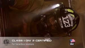 streamlight firefighter helmet light nitex pro firefighting helmet light by underwater kinetics youtube