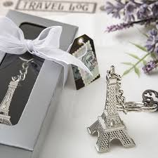 eiffel tower favors eiffel tower key chain favors wedding favors bridal shower