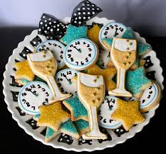 New Years Eve Decorations 2016 Ideas by New Years Sugar Cookie Platter Dessert Party Holidays And