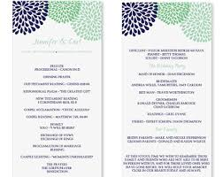 Sample Of Wedding Program 6 Best Images Of Wedding Programs Templates Microsoft Word