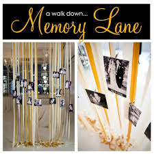 memory lane what a great idea for an anniversary party marriage