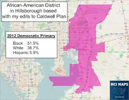 Maps Tampa Updated Data Shows State Senate Districts Shouldn U0027t Cross The