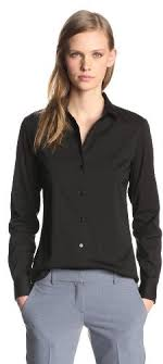black button up blouse theory larissa luxe cotton button up shirt where to buy how to