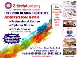 Interior Design Courses In India by Sritech Interior Academy Interior In Chennai Interior Design