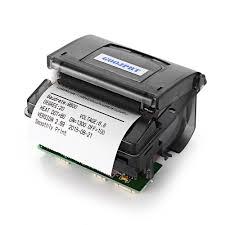 imprimante bureau goojprt qr203 58mm micro réception imprimante thermique rs232 ttl