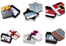 gift cards with free gift box and one day free shipping