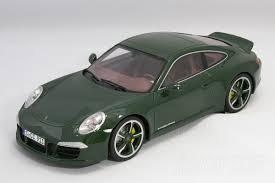 porsche 911 dark green aithjapan modelcar brochure shop rakuten global market gt spirit