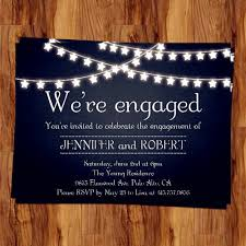 cheap cards rustic outdoor chalkboard cheap engagement party invitation cards