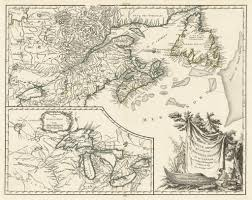L Map Chicago by 1755 Partie De L U0027amerique Septent Qui Comprend La Nouvelle France