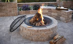 Diy Firepit Diy Pit Illionis Home
