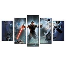 decor modular hd pictures star wars poster canvas home and office