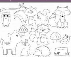 Woodland Animals Coloring Pages Funycoloring Forest Animals Coloring Pages
