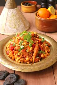 Morroco Style by Moroccan Style Moghrabieh Couscous One Arab Vegan
