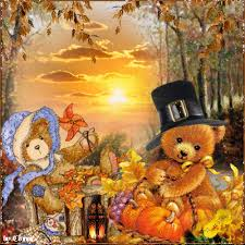 happy thanksgiving teddy bears no pin limits on my boards