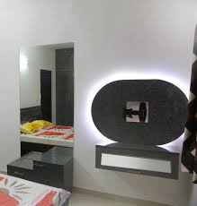 simple tv unit with special back light panel u2013 sai decors