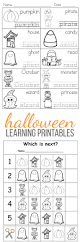 free printable halloween learning activities for kids perfect