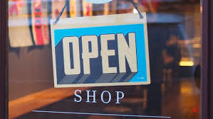 the open and closed times for many local stores on thanksgiving