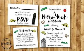 wedding invitations new york nyc printable wedding invitation suite new york wedding
