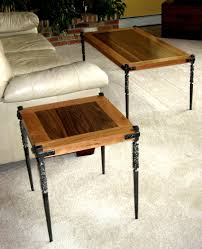 coffee table and 2 side tables against the grain studio