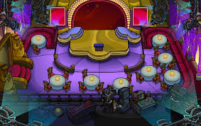 Penguin Home Decor Party Rooms Club Penguin Wiki Fandom Powered By Wikia Amethyst Pin