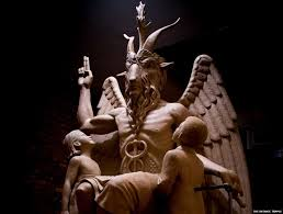 decoding the symbols on satan u0027s statue bbc news