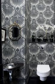funky bathroom wallpaper ideas 23 best powder room images on pinterest fabric wallpaper powder