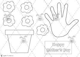 pet mother u0027s day plant pot card premium printable classroom