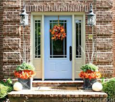 decorate your front door for thanksgiving doors by design