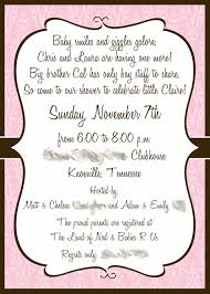 designs lovely sample unique baby shower invitations with quote