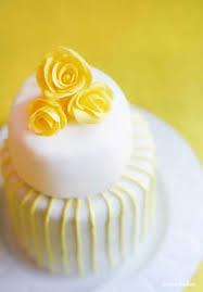 mini yellow wedding cakes i am baker