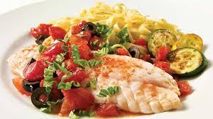 cuisiner poisson filet de sole aux tomates et aux olives recettes iga poisson