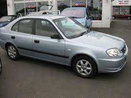 used hyundai accent 2004 petrol 1 3 gsi 5dr hatchback blue manual