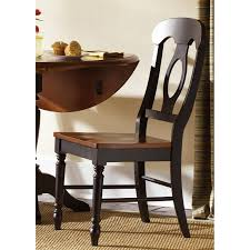 liberty furniture low country napoleon dining side chair set of