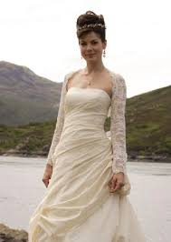 from made of honor scottish style wedding gown wedding
