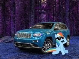jeep grand cherokee dashboard rainbow dash and her 2014 jeep grand cherokee by alerkina2 on