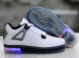 light up high tops nike favorite classic 3337gb light up nike air jordan 4 white black grey