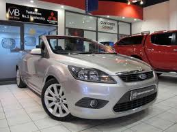 used ford focus tdci used 2008 58 reg argento silver ford focus cc 2 0 tdci cc 2 2dr