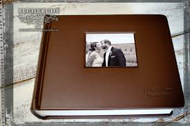 leather wedding photo album heirloom wedding photography finished album leather craftsmen