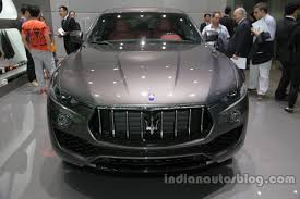 maserati delhi first maserati levante for indian market spotted in bengaluru