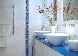 Blue And White Decorating Bathroom Light Blue And White Ideas Brown Images Tile Navy Home