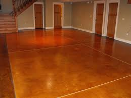 basement flooring options over concrete houses flooring picture