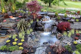 Waterfall In Backyard Appealing Of Backyard Waterfalls And Ponds Ideas In The Small