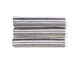 gorgeous grey striped towels grey striped hand towel heather
