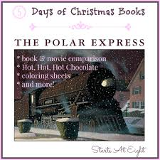 5 days of christmas books the polar express startsateight