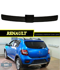 renault sandero stepway 2015 pad on rear bumper for renault sandero stepway 2014 2015 2016
