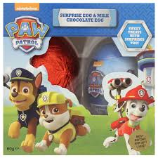 easter eggs surprises buy paw patrol easter eggs egg single 60g online at