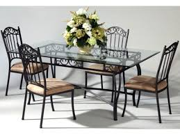 Latest Black Wrought Iron Table And Chairs With Wrought Iron Dining