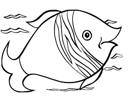 free printable fish coloring pages for kids of pictures we are